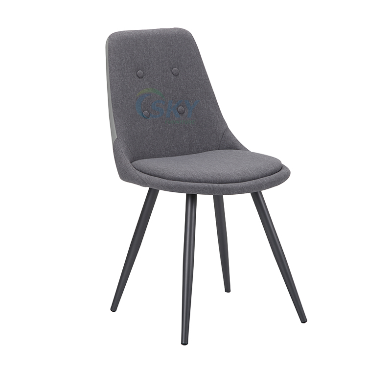 SKY8764  fabric grey dining chair